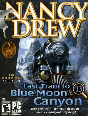 Nancy Drew: Last Train to Blue Moon Canyon Box Cover