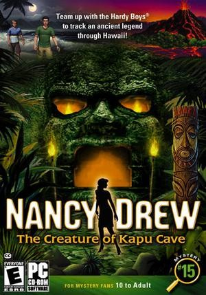 Nancy Drew: The Creature of Kapu Cave Box Cover