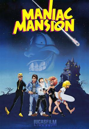 Maniac Mansion Box Cover