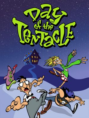 Day of the Tentacle Box Cover