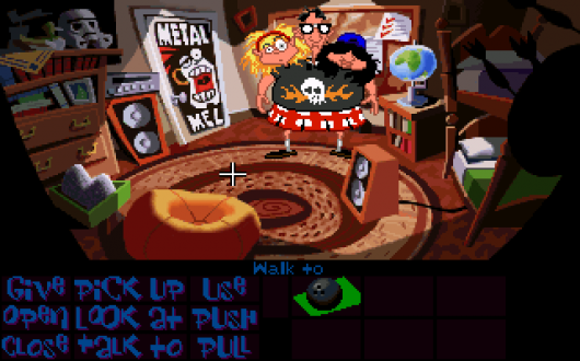 Screenshot for Day of the Tentacle 2