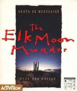 Santa Fe Mysteries: The Elk Moon Murder Box Cover