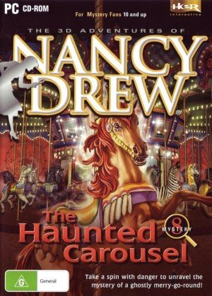 Nancy Drew: The Haunted Carousel Box Cover