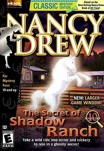 Nancy Drew: The Secret of Shadow Ranch Box Cover