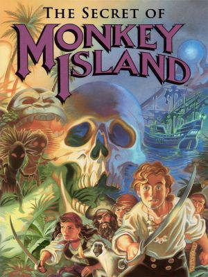 The Secret of Monkey Island Box Cover
