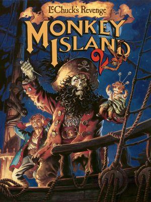 Monkey Island 2: LeChuck's Revenge Box Cover