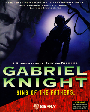 Gabriel Knight: Sins of the Fathers Box Cover