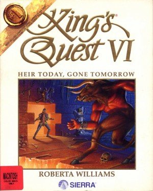 King's Quest VI: Heir Today, Gone Tomorrow Box Cover