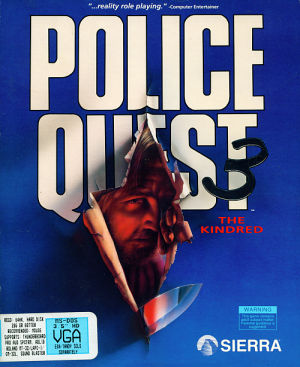 Police Quest 3: The Kindred Box Cover