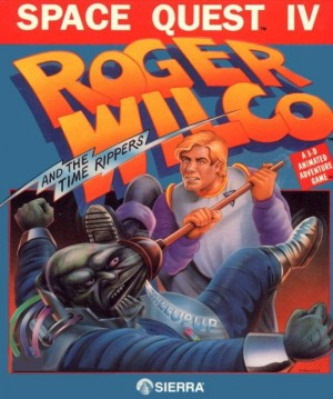 Space Quest IV: Roger Wilco and the Time Rippers Box Cover