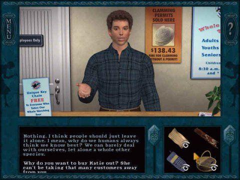 Screenshot for Nancy Drew: Danger on Deception Island 1