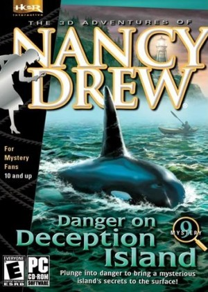 Nancy Drew: Danger on Deception Island Box Cover