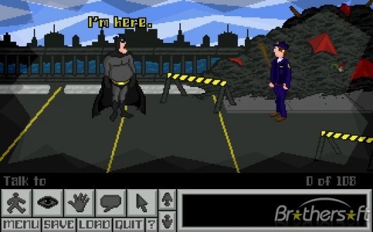 Screenshot for Adventures of Fatman, The 2