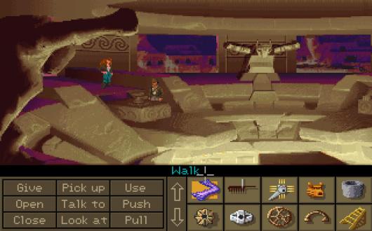 Screenshot for Indiana Jones and the Fate of Atlantis 1
