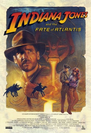 Indiana Jones and the Fate of Atlantis Box Cover
