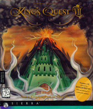 King's Quest VII: The Princeless Bride Box Cover