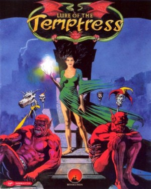 Lure of the Temptress Box Cover