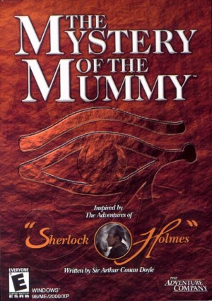 The Mystery of the Mummy Box Cover