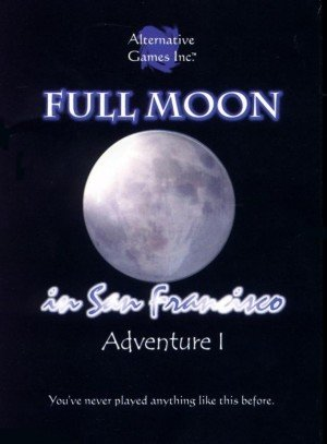 Full Moon in San Francisco Box Cover