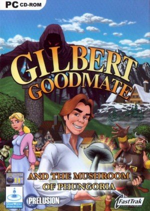 Gilbert Goodmate and the Mushroom of Phungoria Box Cover