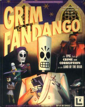 Grim Fandango Box Cover