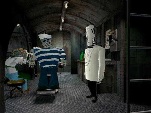 Screenshot for Grim Fandango 3