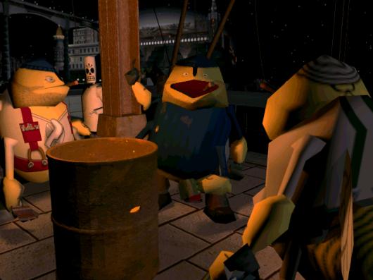 Screenshot for Grim Fandango 1