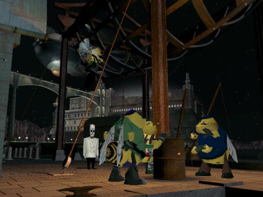 Screenshot for Grim Fandango 2