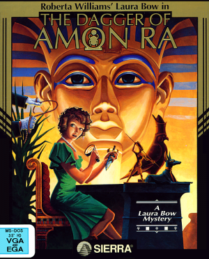 The Dagger Of Amon Ra Box Cover