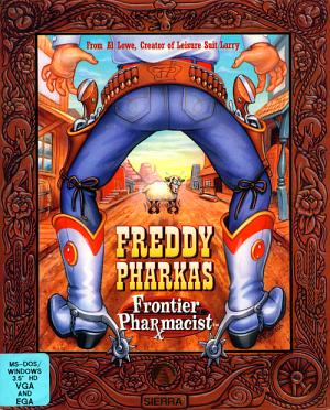 Freddy Pharkas: Frontier Pharmacist Box Cover