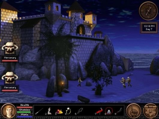 Screenshot for Quest for Glory V: Dragon Fire 7
