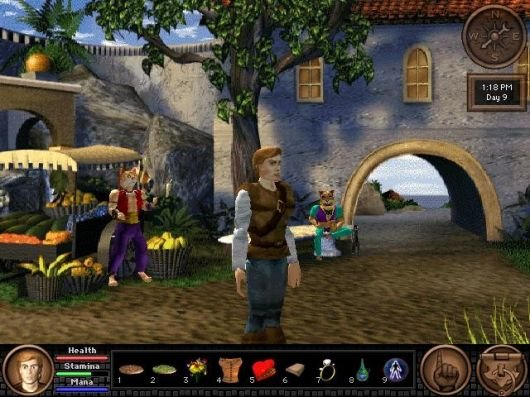 Screenshot for Quest for Glory V: Dragon Fire 6