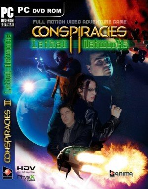 Conspiracies II: Lethal Networks Box Cover