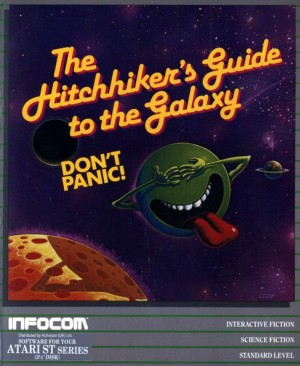 The Hitchhiker's Guide to the Galaxy Box Cover