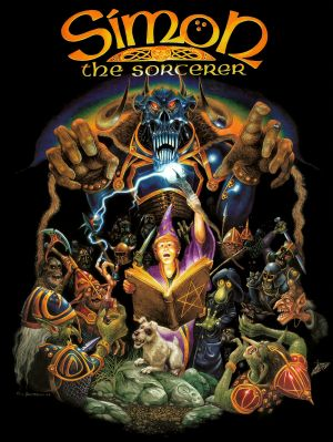 Simon the Sorcerer Box Cover