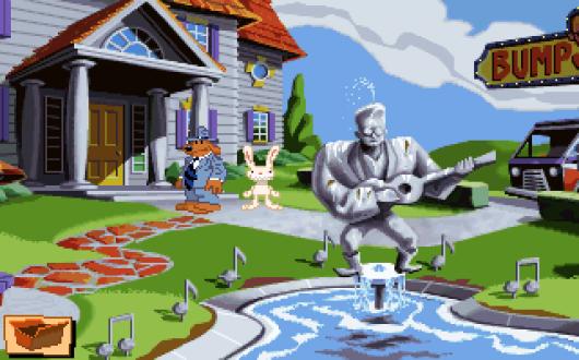 Screenshot for Sam & Max Hit the Road 3