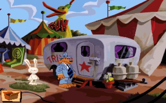 Screenshot for Sam & Max Hit the Road 2