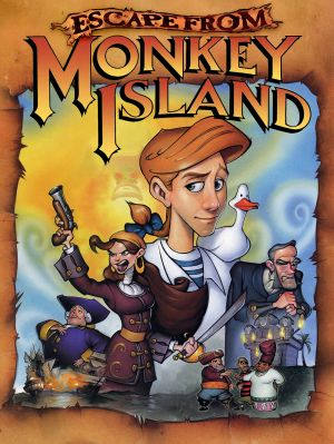 Escape From Monkey Island Box Cover