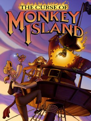 The Curse of Monkey Island Box Cover
