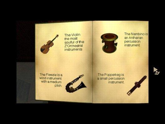 Screenshot for Zork Nemesis: The Forbidden Lands 3