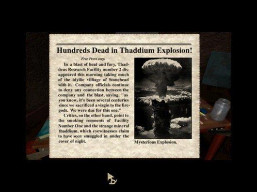 Screenshot for Zork Nemesis: The Forbidden Lands 1
