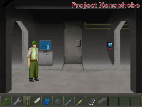 Project Xenophobe Game Details Adventure Gamers