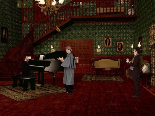 Screenshot for Lost Files of Sherlock Holmes: Case of the Rose Tattoo, The 2