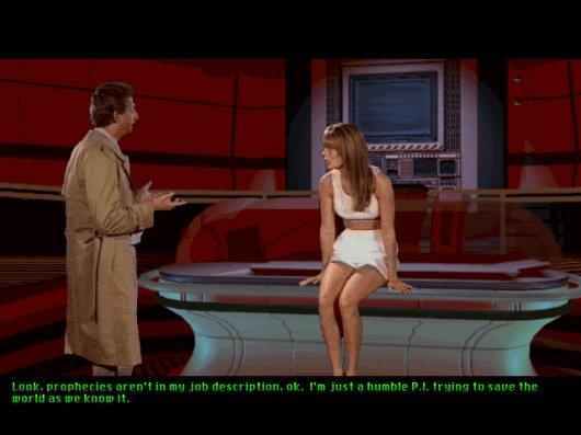 Screenshot for Tex Murphy: Under a Killing Moon 2