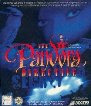 Tex Murphy: The Pandora Directive Box Cover