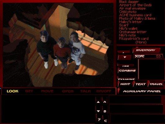 Screenshot for Tex Murphy: The Pandora Directive 3