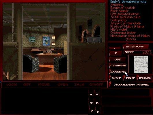 Screenshot for Tex Murphy: The Pandora Directive 1