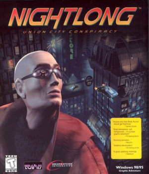 Nightlong: Union City Conspiracy Box Cover