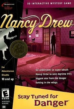 Nancy Drew: Stay Tuned for Danger Box Cover