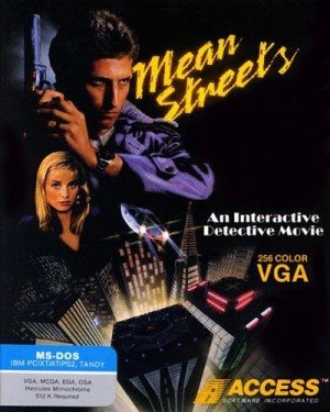 Tex Murphy: Mean Streets Box Cover